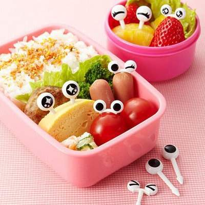 Decorative Cartoon Eyes Toothpick