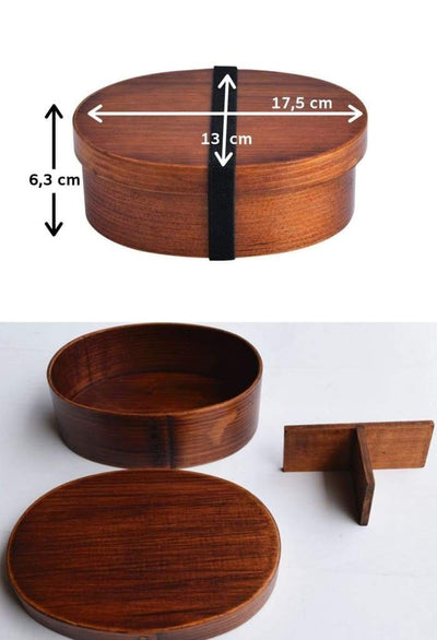 Wooden Bento Box feature