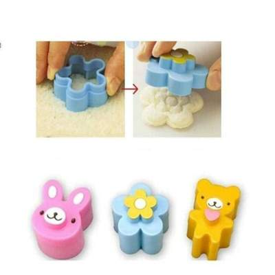 Kawaii animal Sandwich Cutters