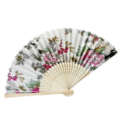 Japanese White Bamboo Fan