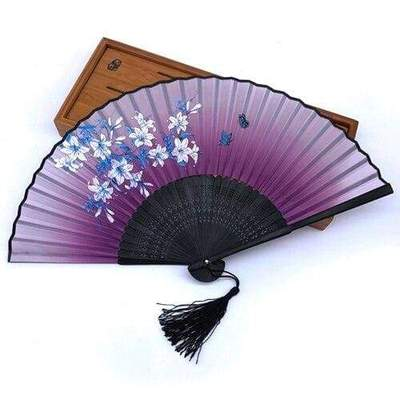 Japanese Blossom Fan