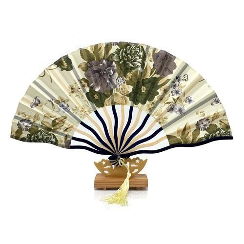 Japanese Fan Yellow & Floral