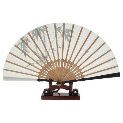 Japanese bamboo pattern fan for woman and geisha