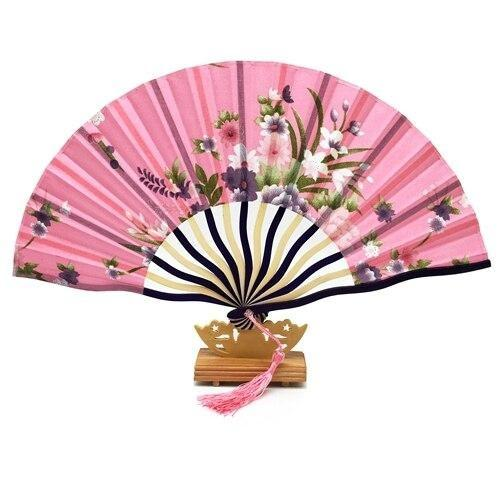 Japanese Fan Pink & Floral