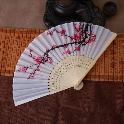 traditional japanese Sakura Fan