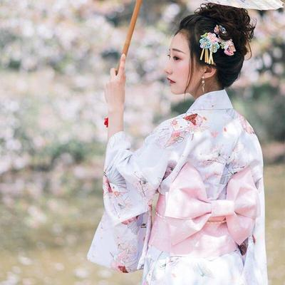 traditional Japanese Kawaii Kimono for Woman
