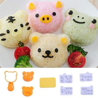 Animal Rice Ball Mold
