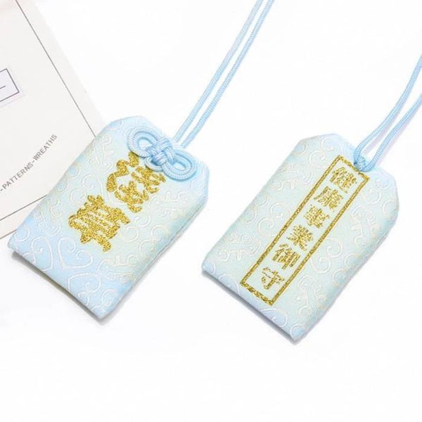 Omamori Blue Health and Success