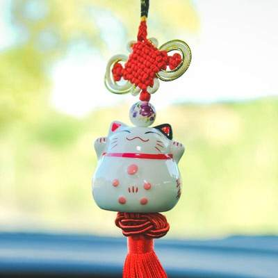 Japanese Lucky Charm Maneki Neko Cat