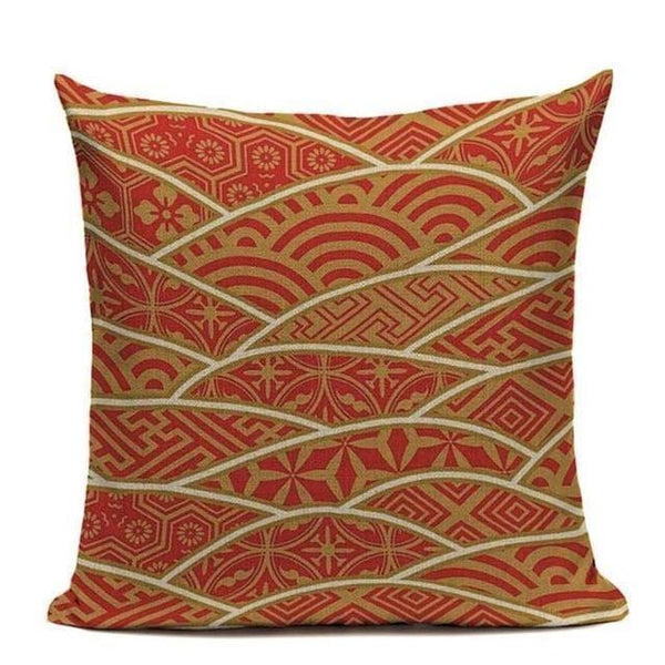 Japanese pillowcase - Orenji