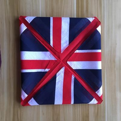 Japanese Furoshiki Fabric English Flag