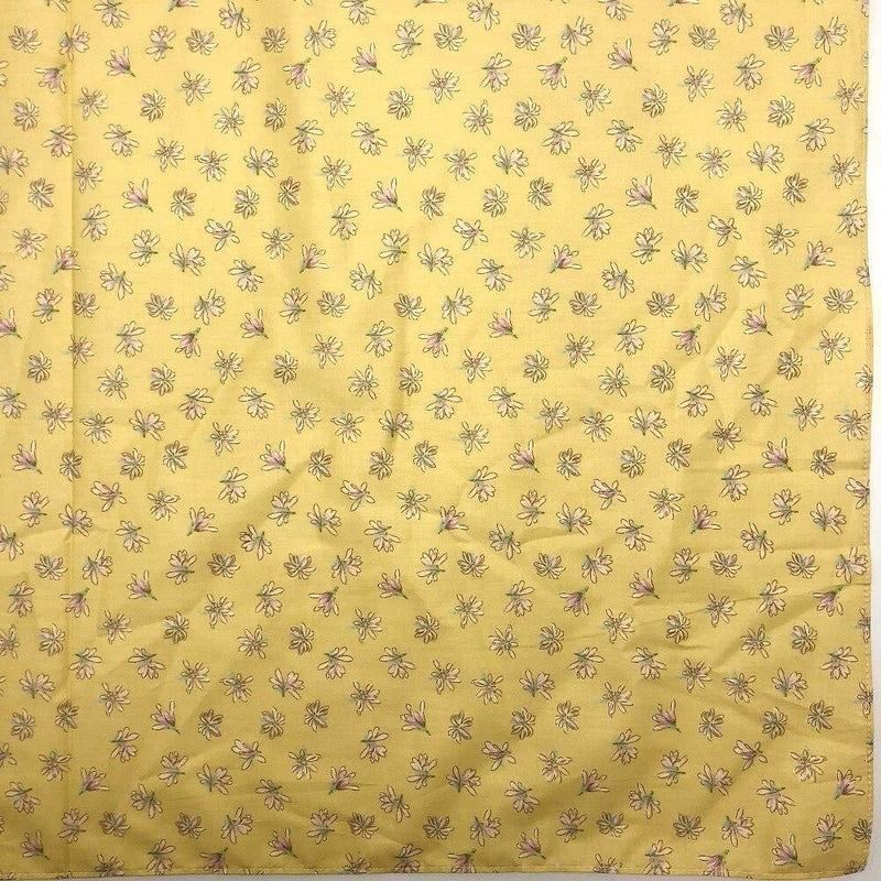 Furoshiki Flower Fabric yellow