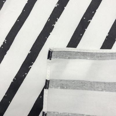 Japanese Furoshiki Striped Fabric