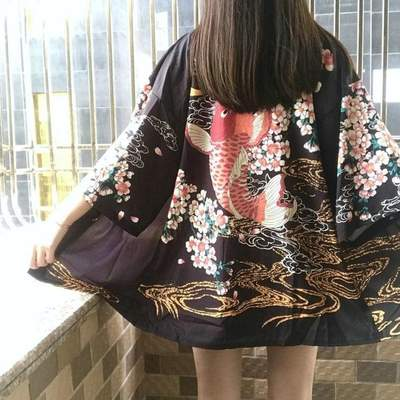 Symbols of Japan Kimono Jacket Women