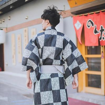 Yukata  Dairiseki for men