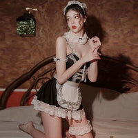 5 in 1 Sweet Maid Costume, Sexy Lingerie Set