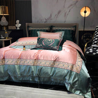 Satin cotton luxury 4-pc bedding set