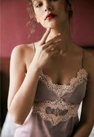 Little Chamomile Elegant Lace Nightgown, Exquisite Lingerie Dress