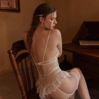 Vintage Lace Wireless Soft Corset