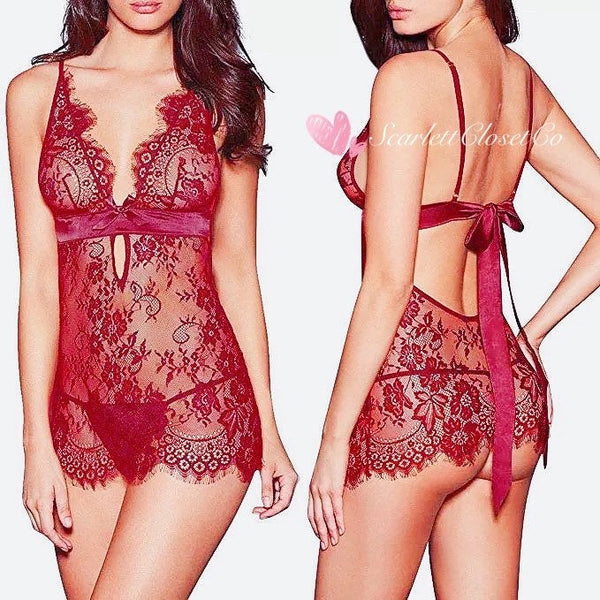 Two-piece Lace Lingerie Set