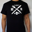 MEN'S MN FORK & KNIFE T-SHIRT BLUE