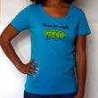 WOMEN'S PEAS ON EARTH T-SHIRT