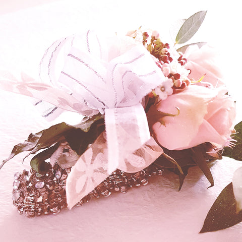 Diamante Wrist Corsages