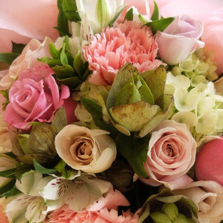 Soft Blush Posy