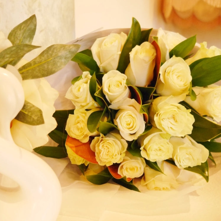 Cream Colombian Roses - Simply the Best!