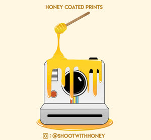 Honey Coated Prints