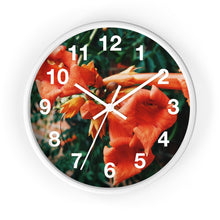 Load image into Gallery viewer, Dreamsicle : Honeysuckle Wall Clock