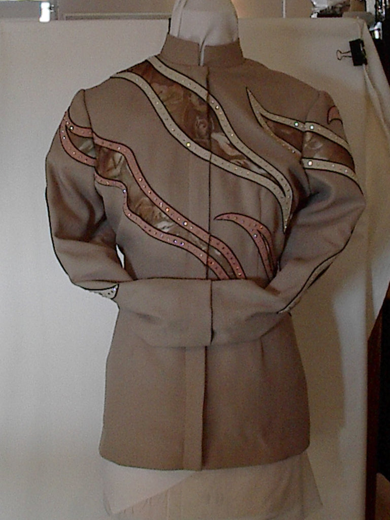 Budget Ladies XL Tan Showmanship Outfit, 1934AB