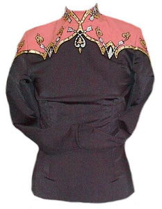 Budget Equitation Show Blouse, Ladies S, 5117AB