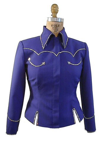Budget Royal Blue Showmanship Retro Style Set, Ladies S, 1943CD