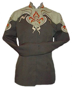 Olive Green Showmanship Outfit, Budget Friendly, Ladies L, 5045BC