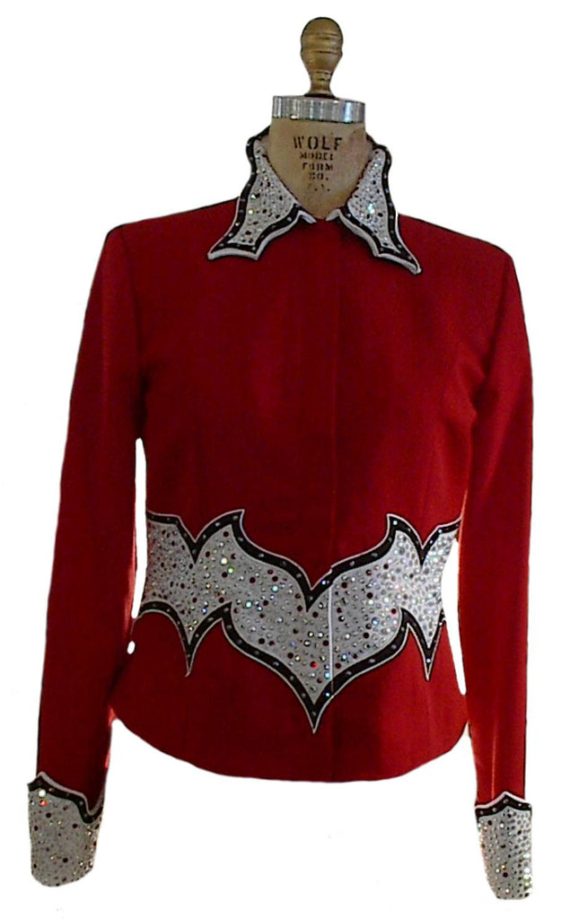 Budget Brick Red Showmanship Outfit, Ladies S, 1954AB