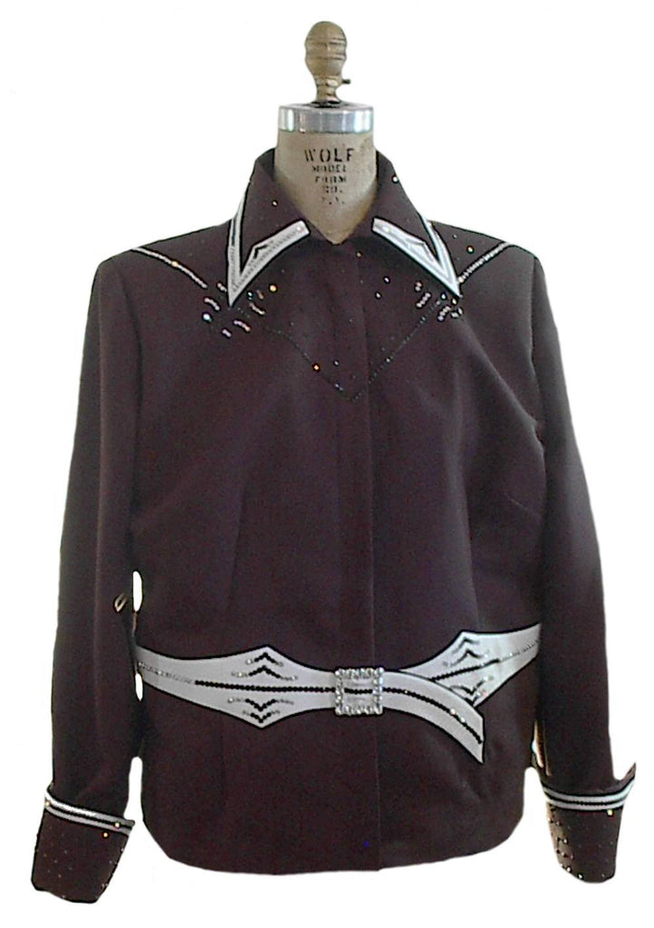 Chocolate Showmanship Outfit Ladies XL 2054AB