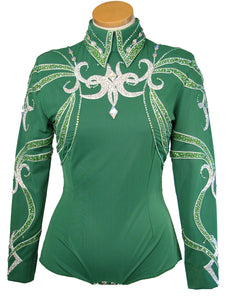 Emerald Green Horsemanship Outfit, Ladies M, 5313ABCD