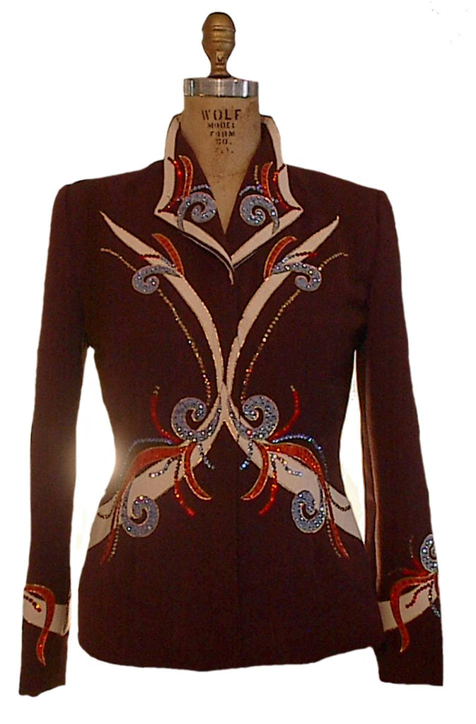 Chocolate Showmanship Outfit, Ladies M, Budget Priced 1831AB