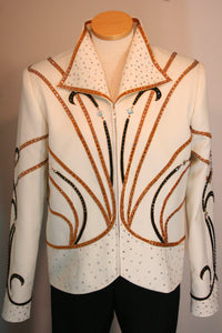 Ivory, Bronze, Black Showmanship Outfit, Ladies L, 5069B