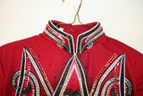 (Out on Approval) Brick Red Equitation Blouse, Girls 1968AB