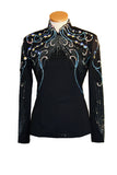 Black Horsemanship Blouse, Ladies L, 5033A
