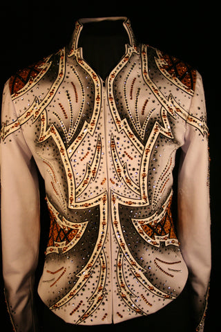 "#1027 ""Copper n' Shine"", Pleasure Show Jacket, 6351-45"