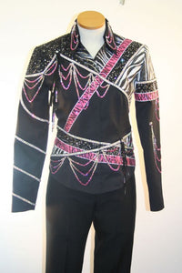 #1128 Black, Ladies M, Pleasure Show Jacket