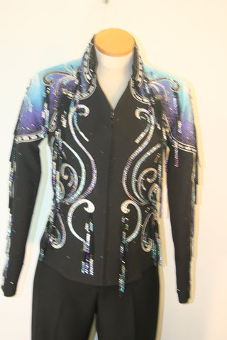 Black Ladies S Pleasure Jacket 1591A