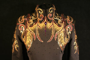 #1248 Equitation Show Blouse, Ladies M, 6351-41