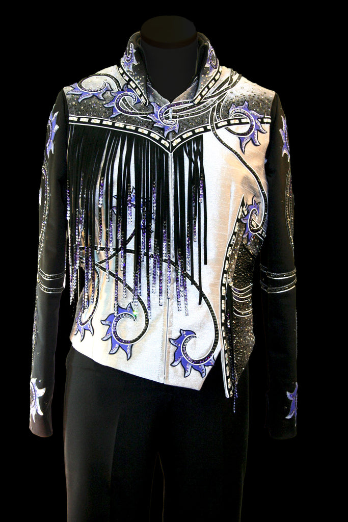 XL Show Vest and Blouse Combo for Western Pleasure 1669AB
