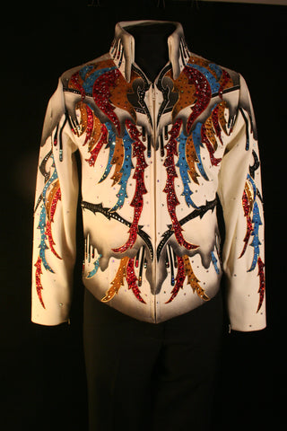 #1173b Ivory Show Jacket, Pleasure, Ladies S, 27216