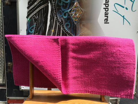 Saddlepad Hot Pink