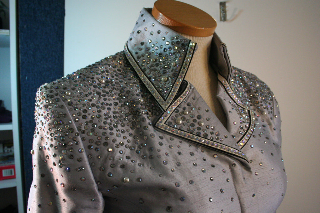 Silver Grey Showmanship Outfit, Ladies S, 2009ABC